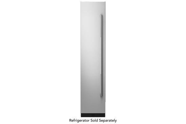 "Large image of JennAir RISE 18"" Built-In Column Refrigerator Stainless Steel Panel Kit - JKCPL181GL"
