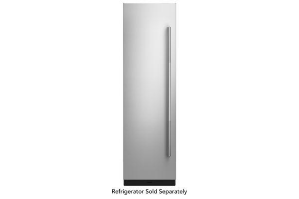 "Large image of JennAir RISE 24"" Built-In Column Refrigerator Stainless Steel Panel Kit - JKCPL241GL"