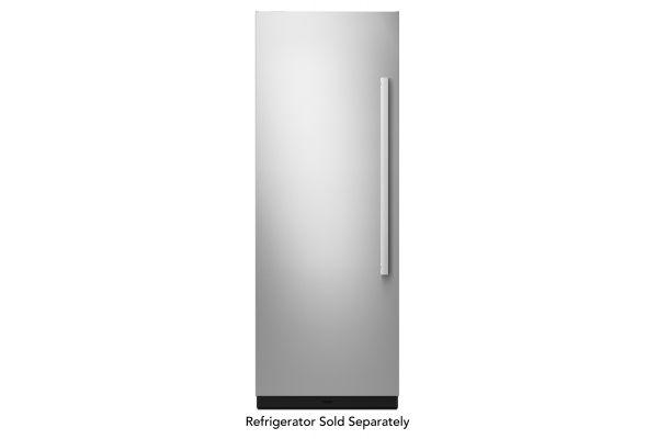 "Large image of JennAir NOIR 24"" Built-In Column Refrigerator Stainless Steel Panel Kit - JKCPL241GM"