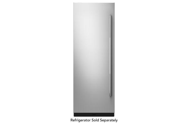 "Large image of JennAir RISE 30"" Built-In Column Refrigerator Stainless Steel Panel Kit - JKCPL301GL"