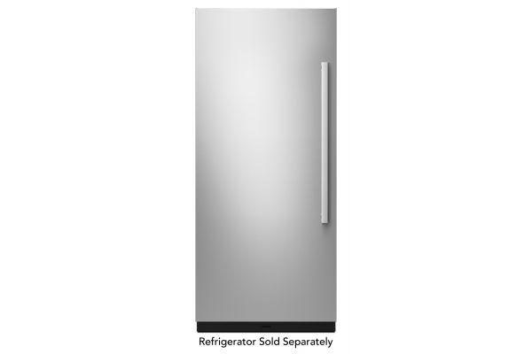 "Large image of JennAir NOIR 36"" Built-In Column Refrigerator Stainless Steel Panel Kit - JKCPL361GM"