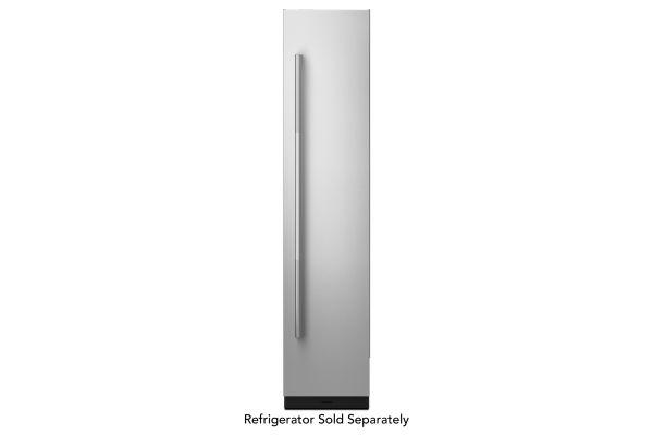 "Large image of JennAir RISE 18"" Built-In Column Refrigerator Stainless Steel Panel Kit - JKCPR181GL"