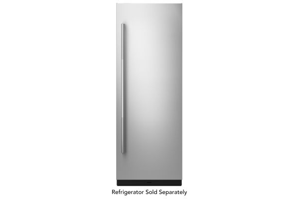"Large image of JennAir RISE 30"" Built-In Column Refrigerator Stainless Steel Panel Kit - JKCPR301GL"