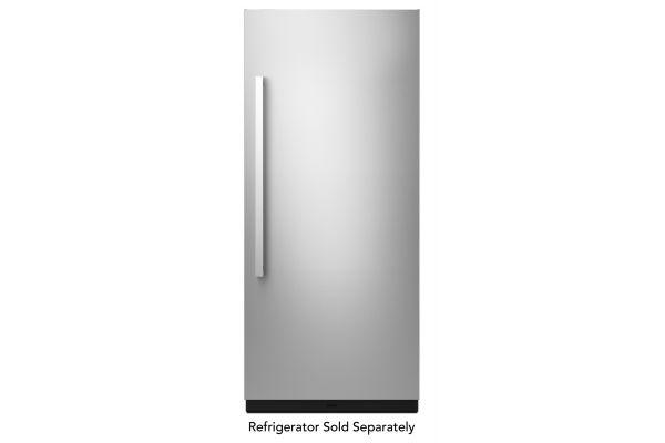 """Large image of JennAir NOIR 36"""" Monochromatic Stainless Steel Built-In Column Panel Kit - JKCPR361GM"""