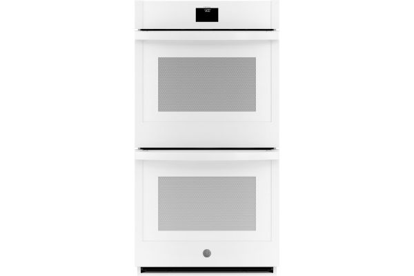 """Large image of GE 27"""" White Built-In Convection Double Wall Oven - JKD5000DNWW"""