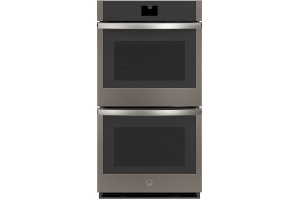 """Large image of GE 27"""" Slate Built-In Convection Double Wall Oven - JKD5000ENES"""