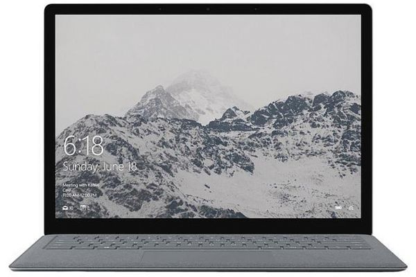"Large image of Microsoft Surface Platinum 13.5"" Laptop Intel i7-7660U 8GB RAM 256GB SSD, Intel Iris Plus Graphics 640 - JKQ-00001"