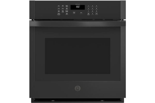 """Large image of GE 27"""" Black Built-In Single Wall Oven - JKS3000DNBB"""