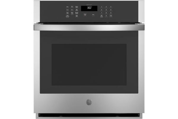 """Large image of GE 27"""" Stainless Steel Built-In Single Wall Oven - JKS3000SNSS"""
