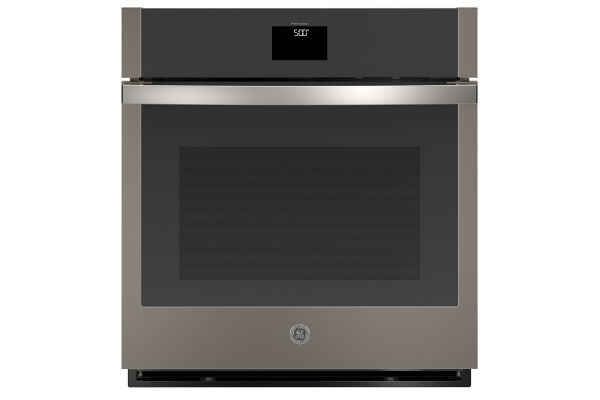 """Large image of GE 27"""" Slate Built-In Convection Single Wall Oven - JKS5000ENES"""