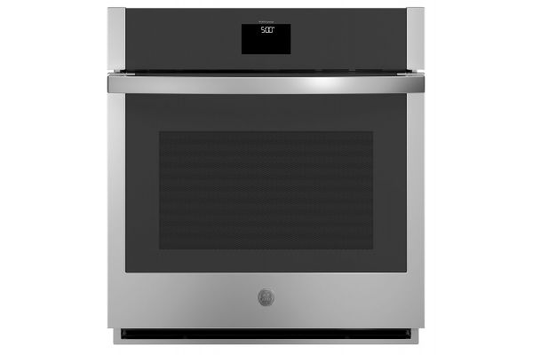 """Large image of GE 27"""" Stainless Steel Built-In Convection Single Wall Oven - JKS5000SNSS"""