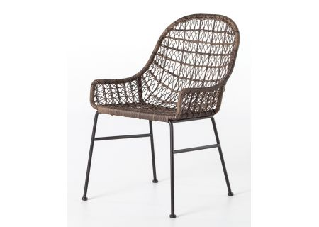 Four Hands Bandera Outdoor Low Arm Dining Chair - JLAN-130
