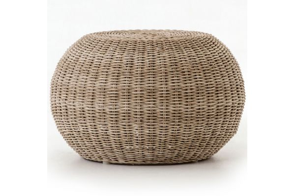 Large image of Four Hands Grass Roots Collection Phoenix Outdoor Accent Stool - JLAN-167A