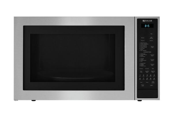 """Jenn-Air 24-3/4"""" Stainless Steel Built-In/Countertop Microwave Oven With Convection - JMC3415ES"""