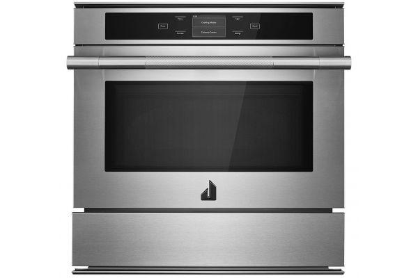 "Large image of JennAir RISE 24"" Stainless Steel Speed Oven - JMC6224HL"