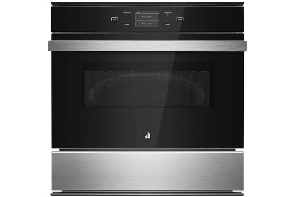"Large image of JennAir NOIR 24"" Stainless Steel Speed Oven - JMC6224HM"