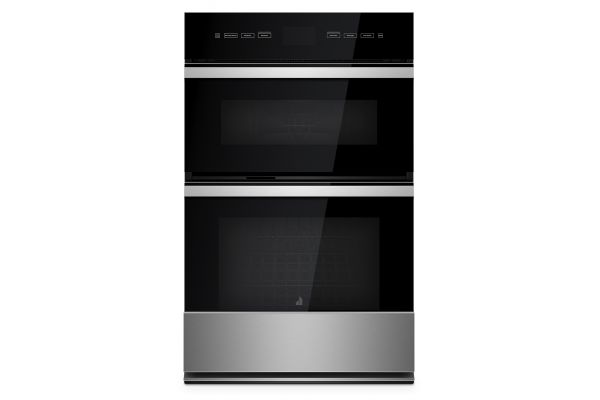 "Large image of JennAir NOIR 27"" Black Combination Microwave Wall Oven With MultiMode Convection System - JMW2427IM"