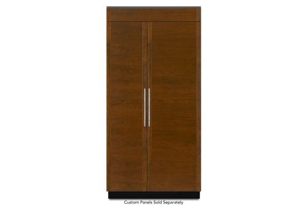 "JennAir 42"" Panel Ready Built-In Side-By-Side Refrigerator - JS42NXFXDE"