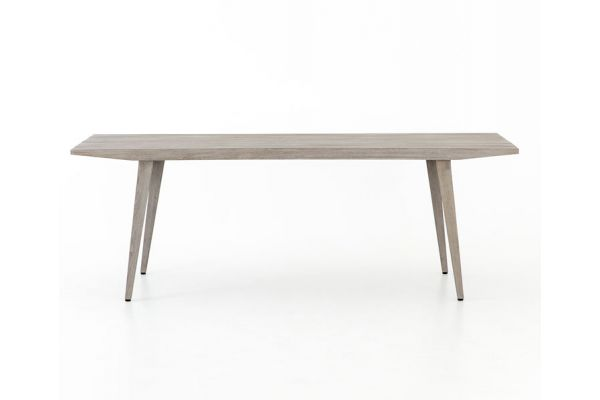 Large image of Four Hands Solano Collection Hansen Outdoor Tapered Dining Table - JSOL-027A