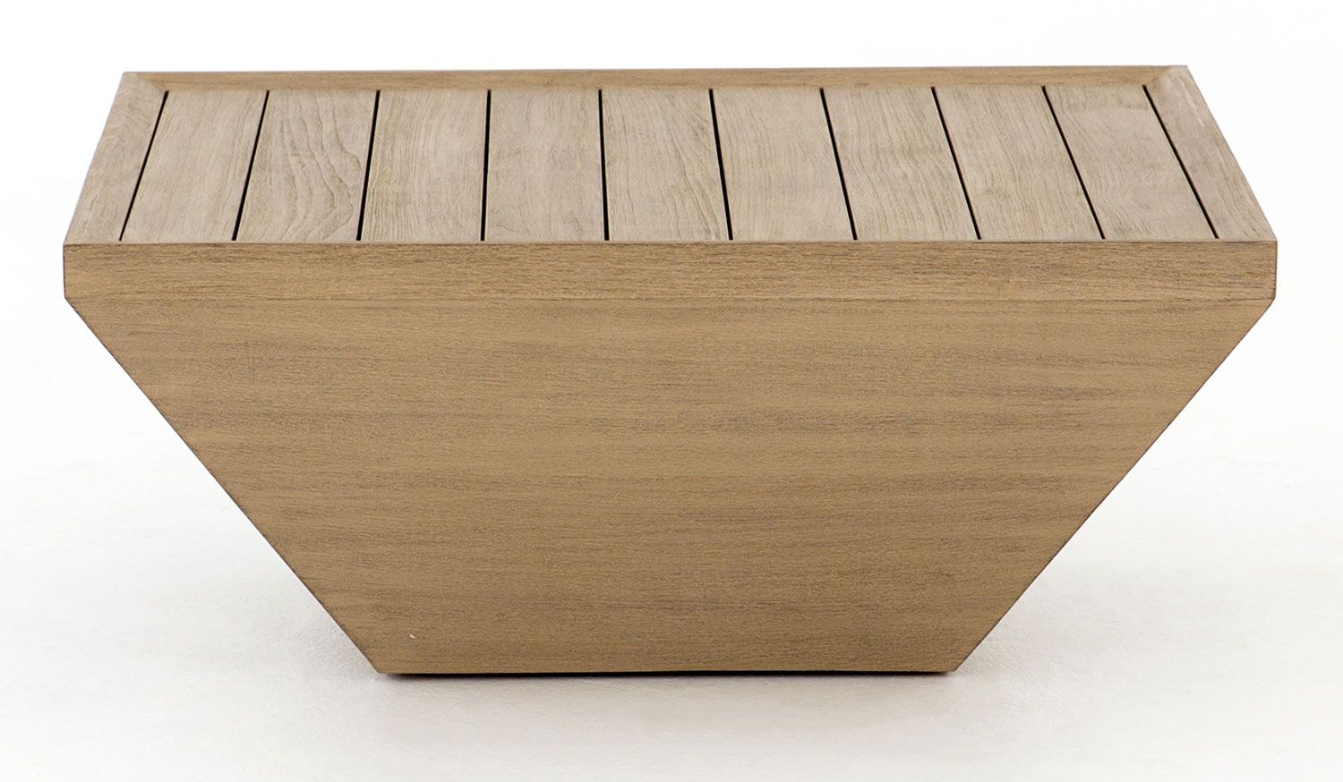 Four Hands Solano Delwin Brown Square Outdoor Coffee Table Jsol 010