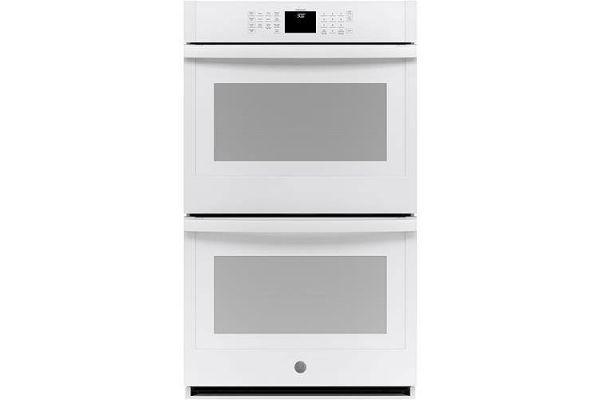 """Large image of GE 30"""" White Built-In Double Wall Oven - JTD3000DNWW"""