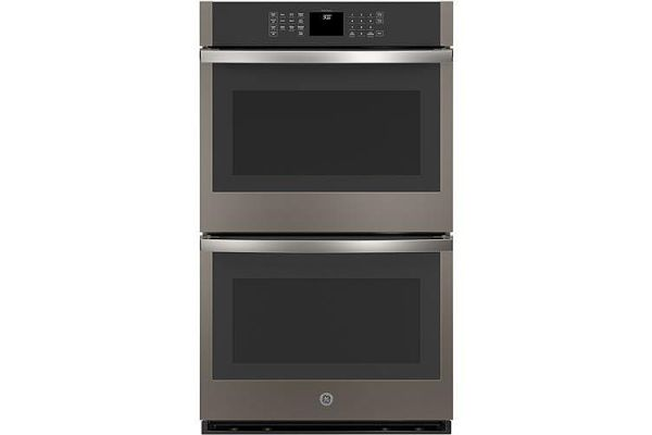 """Large image of GE 30"""" Slate Built-In Double Wall Oven - JTD3000ENES"""