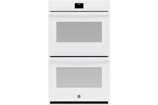 """Large image of GE 30"""" White Built-In Convection Double Wall Oven - JTD5000DNWW"""