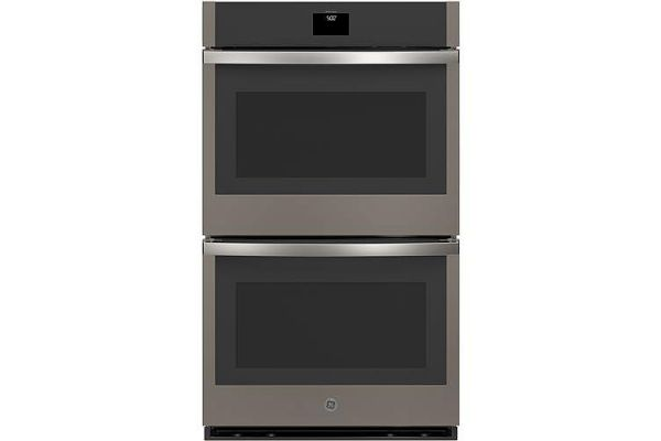 """Large image of GE 30"""" Slate Built-In Convection Double Wall Oven - JTD5000ENES"""