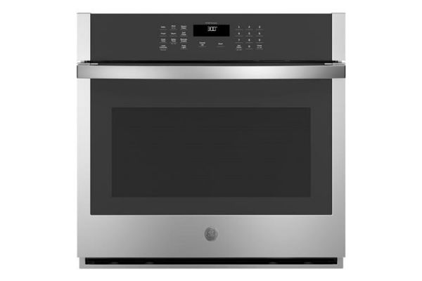 """Large image of GE 30"""" Stainless Steel Built-In Single Wall Oven - JTS3000SNSS"""