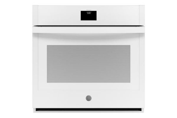 """Large image of GE 30"""" White Built-In Convection Single Wall Oven - JTS5000DNWW"""