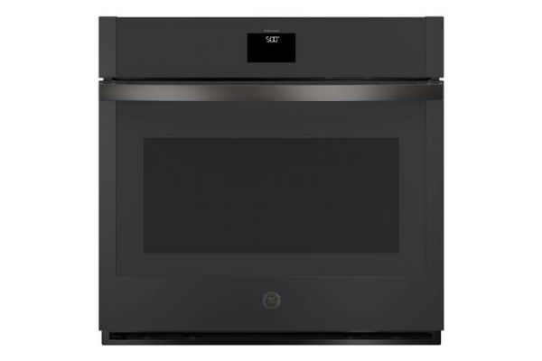 """Large image of GE 30"""" Black Slate Built-In Convection Single Wall Oven - JTS5000FNDS"""