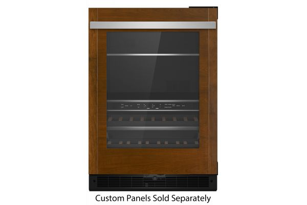 """Large image of JennAir 24"""" Panel Ready Frame Right-Hinge Built-In Undercounter Beverage Center - JUBFR242HX"""