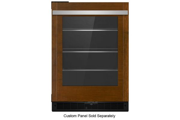 "JennAir 24"" Panel-Ready Undercounter Glass Door Refrigerator - JUGFR242HX"