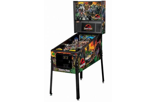 Large image of Stern Pinball Jurassic Park Premium Pinball Machine - JURASSICPARKPREM
