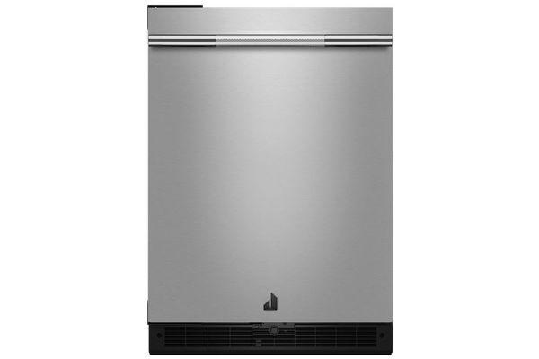 "JennAir RISE 24"" Stainless Steel Undercounter Solid Door Refrigerator - JURFL242HL"