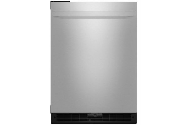 "Jenn-Air NOIR 24"" Stainless Steel Undercounter Solid Door Refrigerator - JURFL242HM"