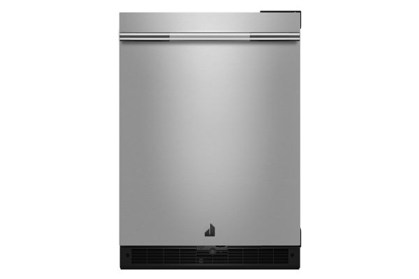 "JennAir RISE 24"" Stainless Steel Under Counter Solid Door Refrigerator - JURFR242HL"