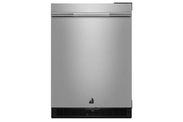 "JennAir RISE 24"" Stainless Steel Under Counter Solid Door Refrigerator - JURFR242HL"