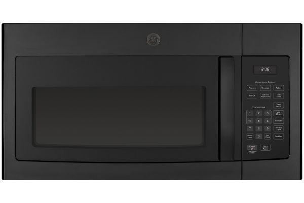 Large image of GE Black Over The Range Microwave Oven - JVM3160DFBB