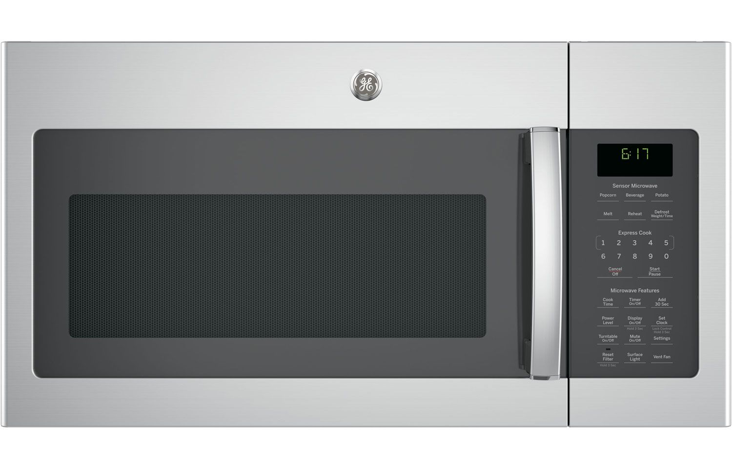 Ge Stainless Over The Range Microwave Oven Jvm6175skss