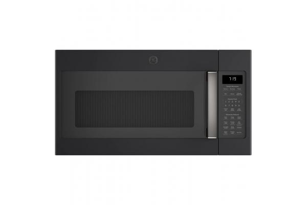 Large image of GE Fingerprint Resistant Black Slate Over-The-Range Sensor Microwave Oven - JVM7195FLDS