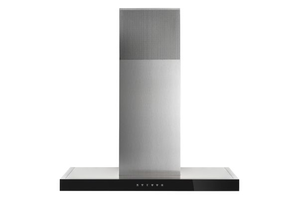 """Large image of JennAir 36"""" Stainless Steel Recirculating Wall-Mount Canopy Hood - JVR0436HS"""
