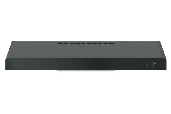 "GE 30"" Black Convertible Under Cabinet Wall Hood - JVX3300DJBB"