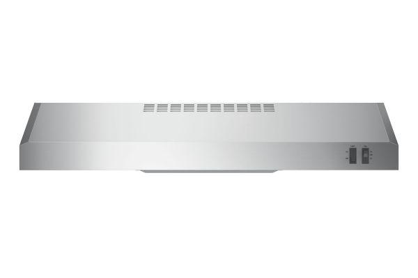 "GE 30"" Stainless Steel Convertible Under Cabinet Wall Hood - JVX3300SJSS"