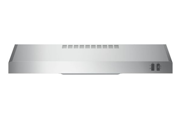"""Large image of GE 30"""" Stainless Steel Convertible Under Cabinet Wall Hood - JVX3300SJSS"""