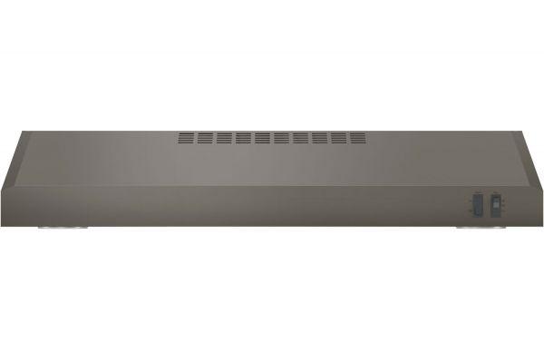 """Large image of GE 30"""" Slate Under Cabinet Wall Hood - JVX5305EJES"""
