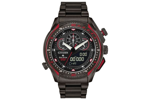 Large image of Citizen Promaster SST Grey Stainless Steel Mens Watch - JW013751E