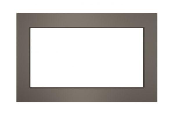 "Large image of GE 27"" Slate Built-In Trim Kit - JX7227ELES"