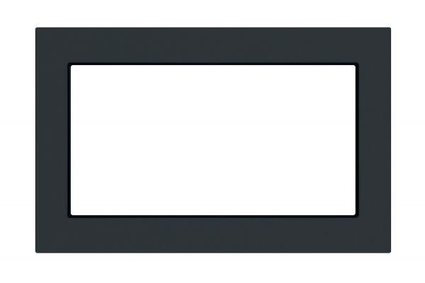 """Large image of GE 27"""" Black Slate Built-In Microwave Oven Trim Kit - JX7227FMDS"""