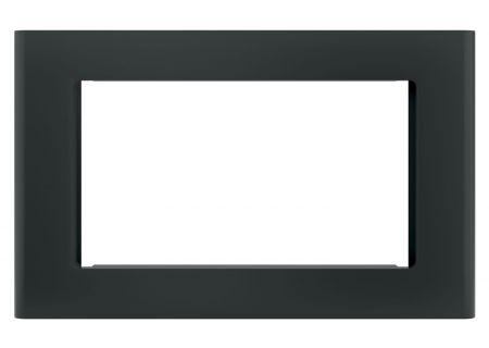 """GE Black 27"""" Built-In Microwave Oven Trim Kit - JX9152DJBB"""
